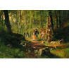 Прогулка в лесу. И.И. Шишкин Пазлы Стелла