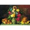 Цветы и плоды. И.Ф. Хруцкий Пазлы Стелла