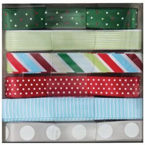 Spots & Stripes Festive набор Ленты для скрапбукинга, кардмейкинга Docrafts