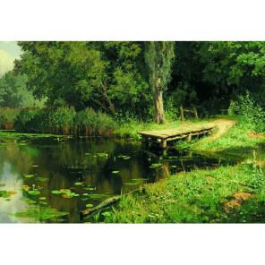 Заросший пруд. В.Д.Поленов Пазлы Стелла TG150182