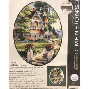 Внешний вид упаковки Викторианский дом 03874 Набор для вышивания Dimensions ( Дименшенс )