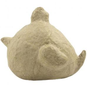 Цыпленок цыпа Фигурка мини из папье-маше объемная Decopatch AP164