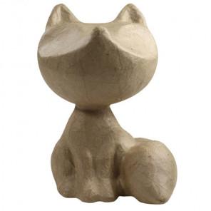 Лисичка Фигурка мини из папье-маше объемная Decopatch AP149