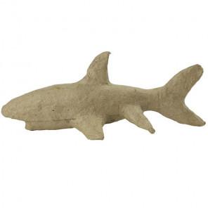 Акула Фигурка мини из папье-маше объемная Decopatch AP158
