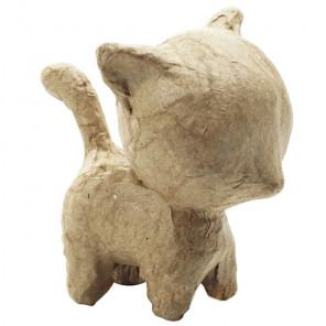 Котенок Фигурка мини из папье-маше объемная Decopatch