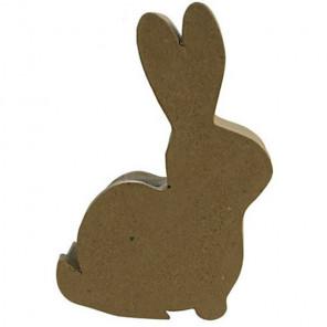 Заяц шкатулка Заготовка из папье-маше объемная Decopatch BT051