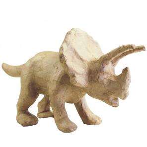 Трицератопс Фигурка маленькая из папье-маше объемная Decopatch SA181