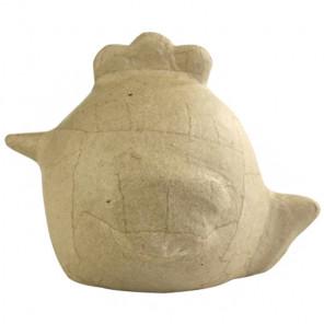 Вариант декора Цыпленок цыпа Фигурка маленькая из папье-маше объемная Decopatch SA186