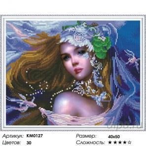Количество цветов и сложность Принцесса Фэнтэзи Алмазная мозаика вышивка на подрамнике Molly KM0127