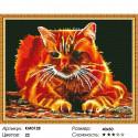 Огненный Алмазная мозаика вышивка на подрамнике Molly