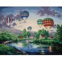 Парад шаров Раскраска по номерам Dimensions