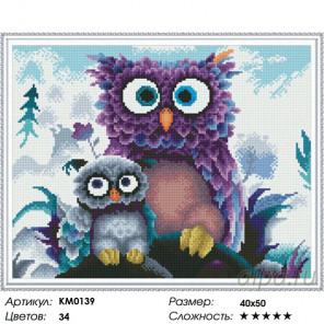 Семейный портрет Алмазная мозаика вышивка на подрамнике Molly KM0139