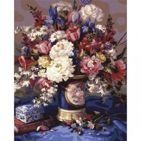 Итальянская ваза Раскраска картина по номерам акриловыми красками Plaid