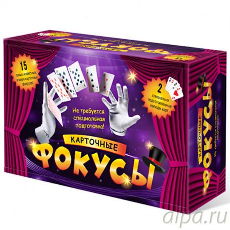 Карточные фокусы Настольная игра 8027