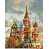 Раскладка Собор Василия Блаженного Алмазная вышивка (мозаика) Гранни