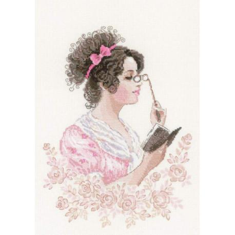 Книжный клуб Набор для вышивания Риолис 1792