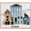 Афины. Столицы мира Набор для вышивания на магнитной основе Овен