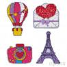 Путешествие в Париж Набор для вышивания на магнитной основе Овен 1154