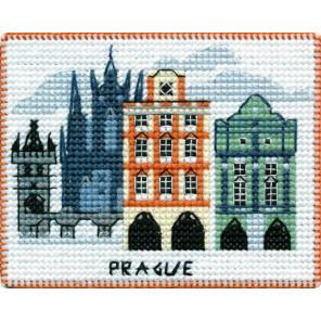 Прага. Столицы мира Набор для вышивания на магнитной основе Овен 1066