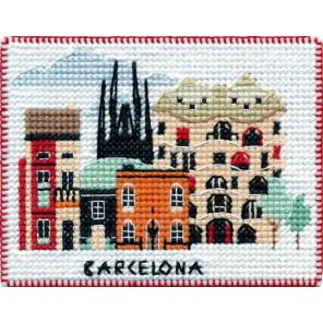 Барселона. Столицы мира Набор для вышивания на магнитной основе Овен