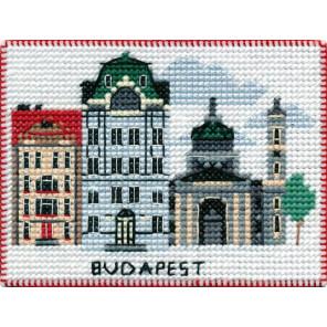 Будапешт. Столицы мира Набор для вышивания на магнитной основе Овен 1058