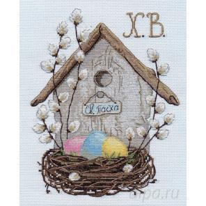 Пасхальная композиция Набор для вышивания Овен 1181