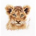 Львенок. Животные в портретах Набор для вышивания Алиса