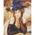 Ожидание Канва с рисунком для вышивки бисером Каролинка ТКБЛ(э) 3041