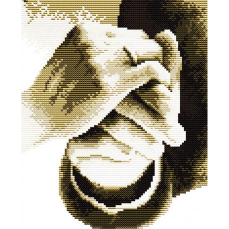 Держи меня за руку Набор для вышивания R060