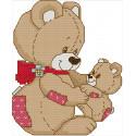 Медвежонок с мамой Набор для вышивания