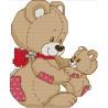 Медвежонок с мамой Набор для вышивания K644