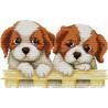 Два щенка Набор для вышивания K064