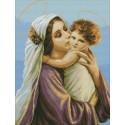 Святые мать и сын Набор для вышивания