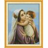 В рамке Святые мать и сын Набор для вышивания R266