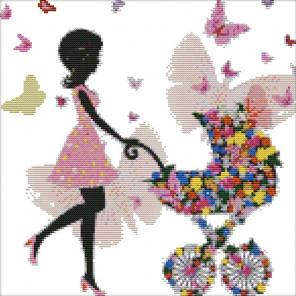 Цветочная фея Набор для вышивания K679