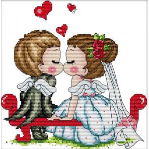 Поцелуй ангелов Набор для вышивания K799
