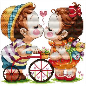 Поцелуй Набор для вышивания K542