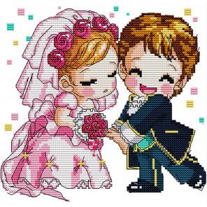 Романтическая свадьба Набор для вышивания K052
