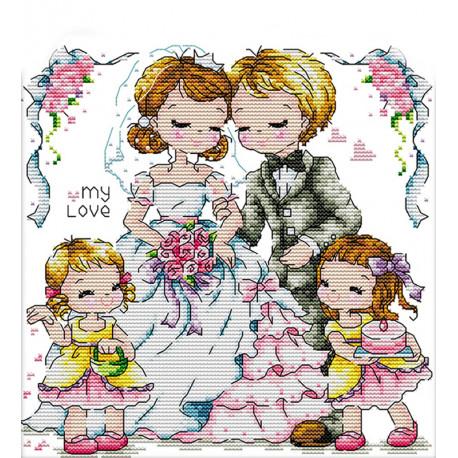 Узы любви Набор для вышивания K051