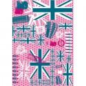 Англия розовая 580 Бумага для декопатча Decopatch