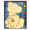 Собачка Набор для росписи деревянных часов