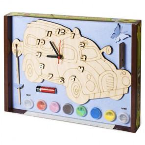 Машинка Набор для росписи деревянных часов