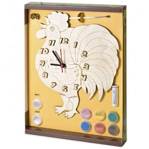 Петух Набор для росписи деревянных часов