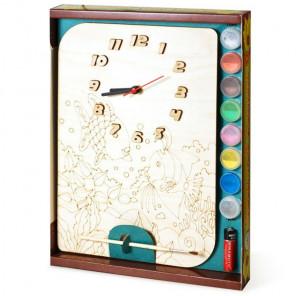 Рыбки Набор для росписи деревянных часов