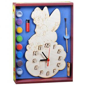 Фея Набор для росписи деревянных часов ДНИ 7815