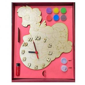 Пони Набор для росписи деревянных часов