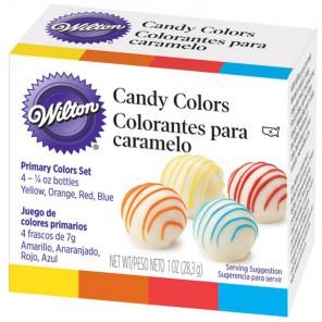 Для конфет Набор красителей на масляной основеWilton ( Вилтон )