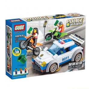 Коробка Полиция Конструктор 9311