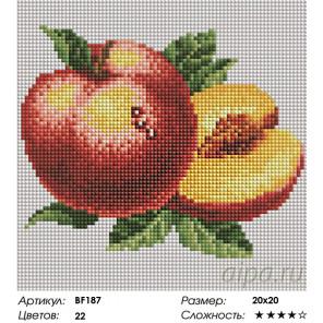 Количество цветов и сложность Сладкий персик Алмазная мозаика вышивка на подрамнике Painting Diamond BF187