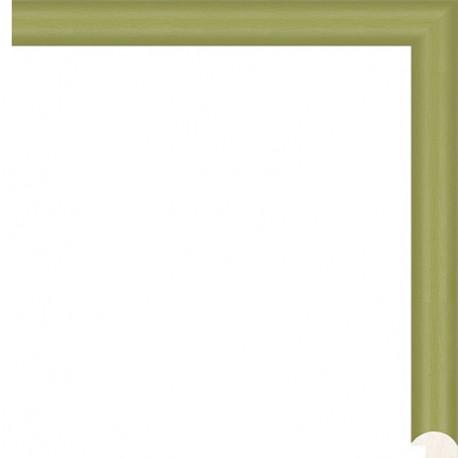 Светло-зеленая Рамка для картины на картоне N155
